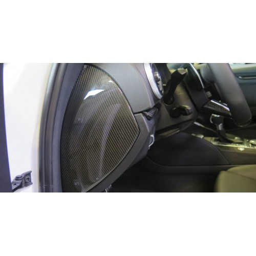Molduras salpicadero carbono ABT Audi RS3 Sportback 8V FL