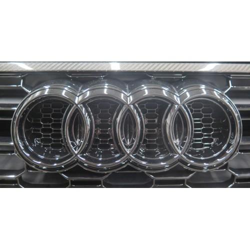 Emblema negro brillo ABT Audi RS4 Avant B9