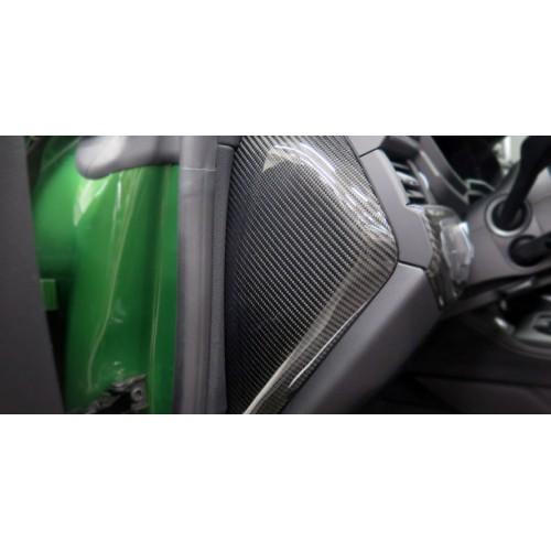 Molduras salpicadero carbono ABT Audi RS4 Avant B9